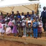 Cérémonie de remise des fournitures scolaires : OSE (offrir le sourire à un enfant)